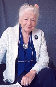 Ida Rolf Gründerin des Rolfing
